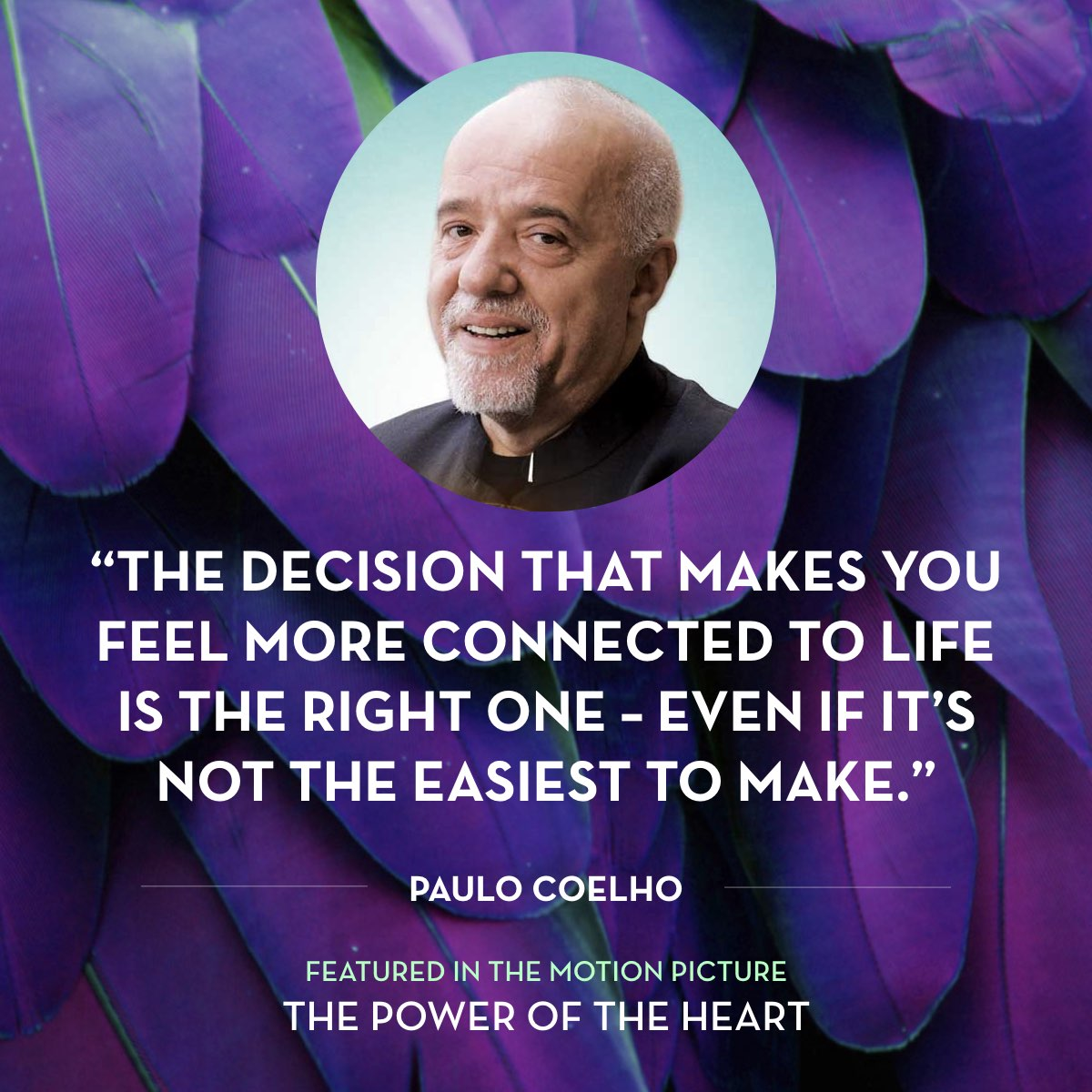 From 'Twelve Steps To Fulfillment' by Paulo Coelho. Read the full story at thepoweroftheheart.com