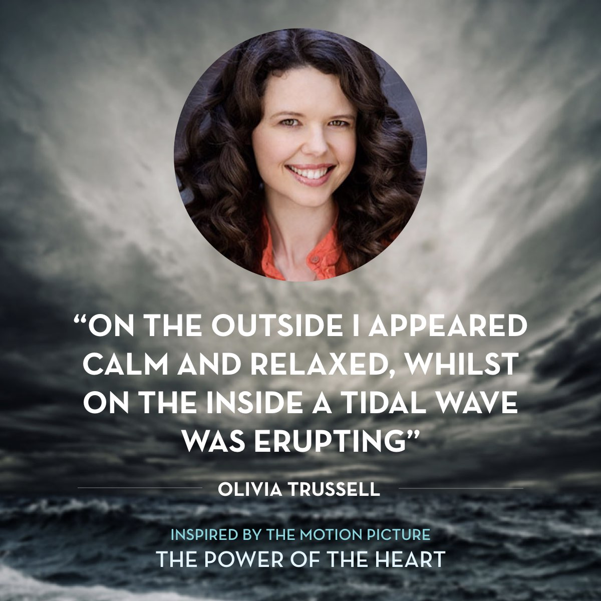 From 'How I Cured My Anxiety' by Olivia TRUSSELL. Read the full story at thepoweroftheheart.com